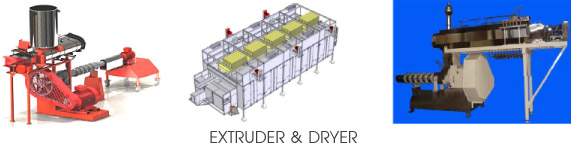 SPARE PART OF EXTRUDER & DRYER